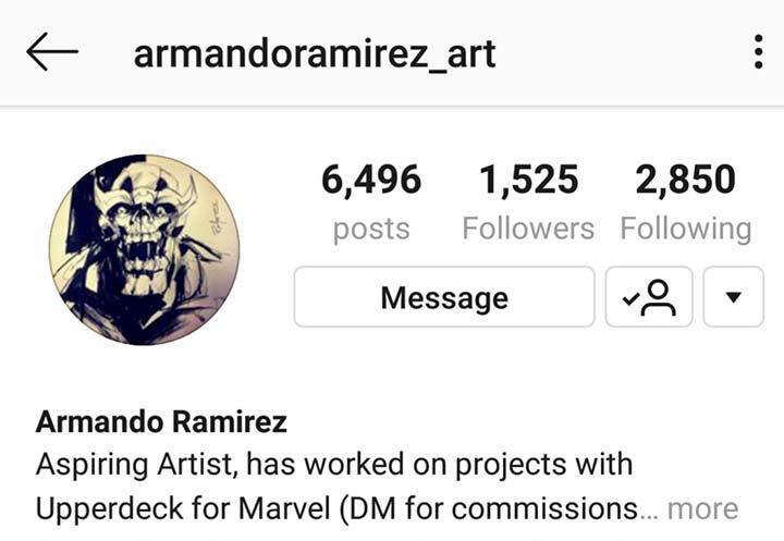 Armando Ramirez Instagram