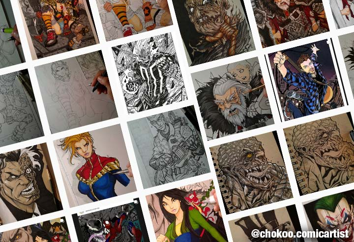 chokoo comic artist