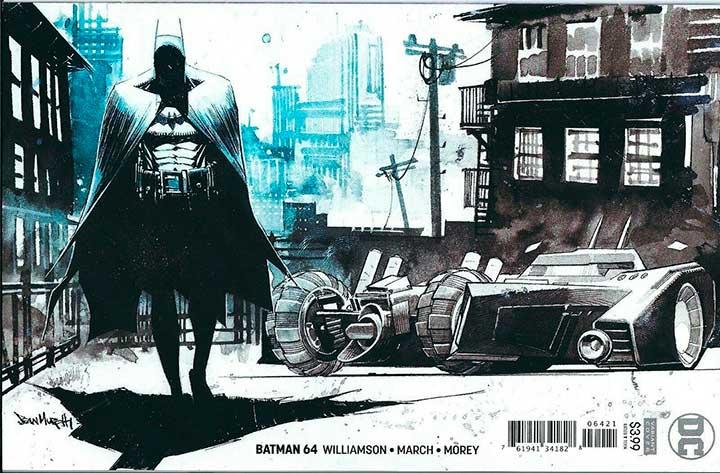 Batman #64 Cover variant by Sean Murphy