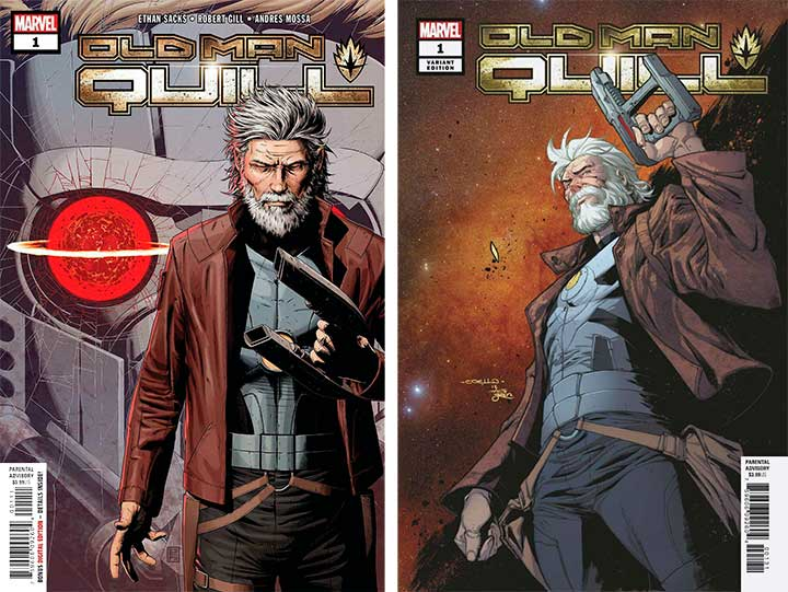 Old Man Quill #1 Cover A and 1 and 50 variant cover