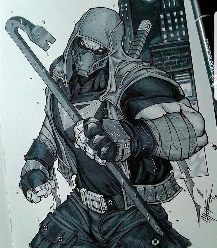 Jason Todd Drawing