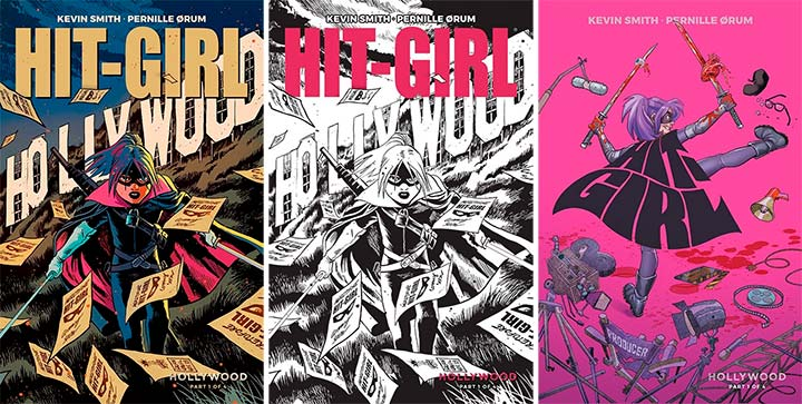 Hit-Girl Season Two #1 Covers