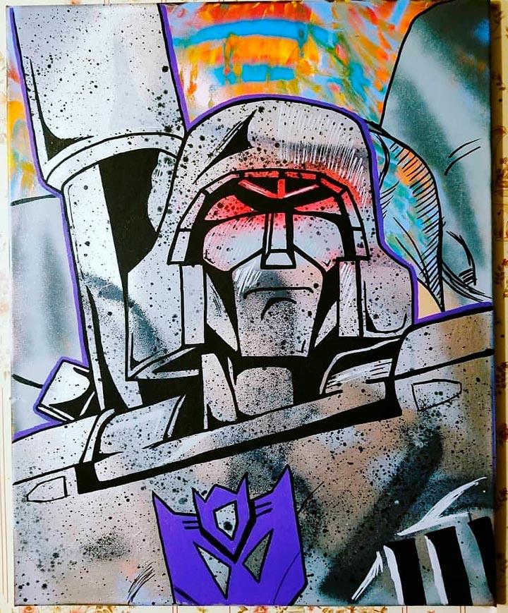 Chris Ecto Art - Transformers