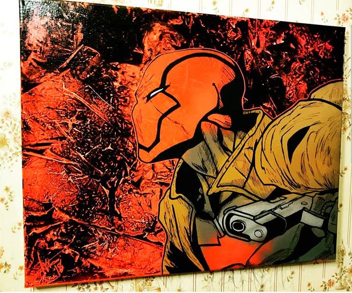 Chris Ecto Red Hood Art