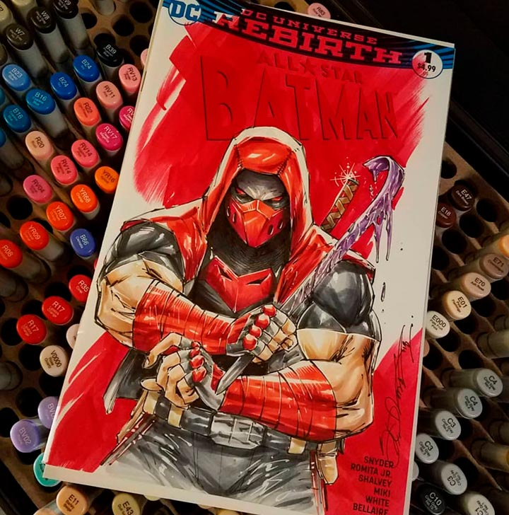 Red Hood by Shelby Robertson
