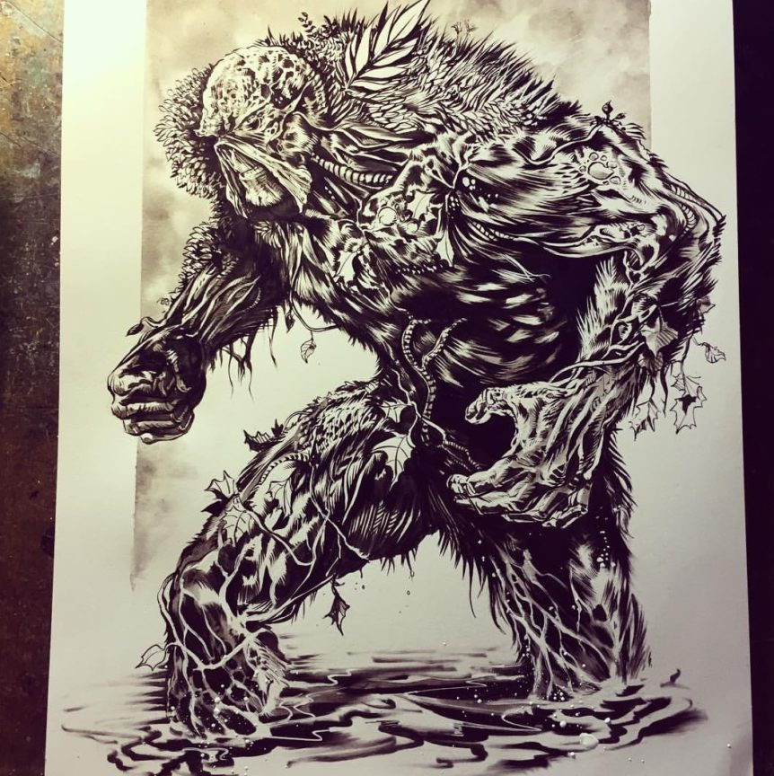Swamp Thing Mike Rooth