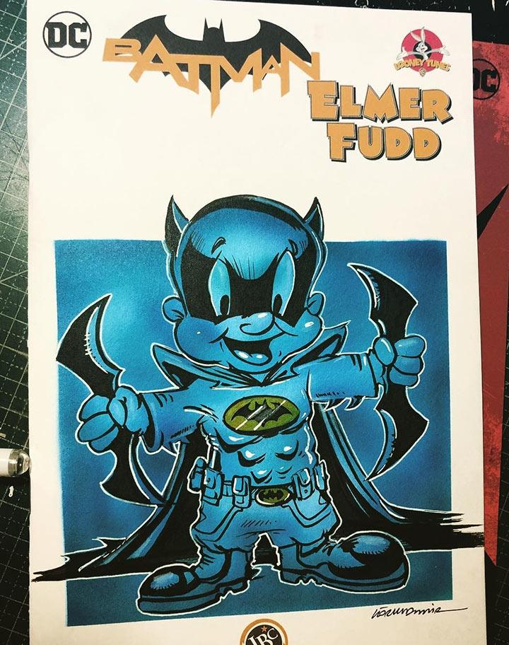 Elmer Fudd Batman