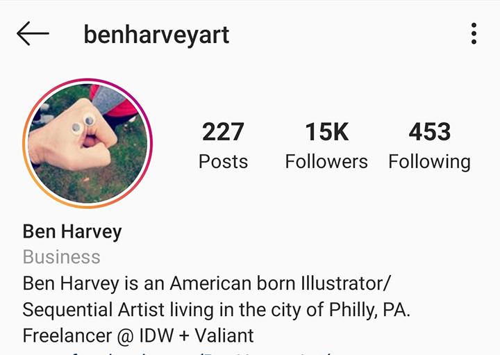 ben Harvey art