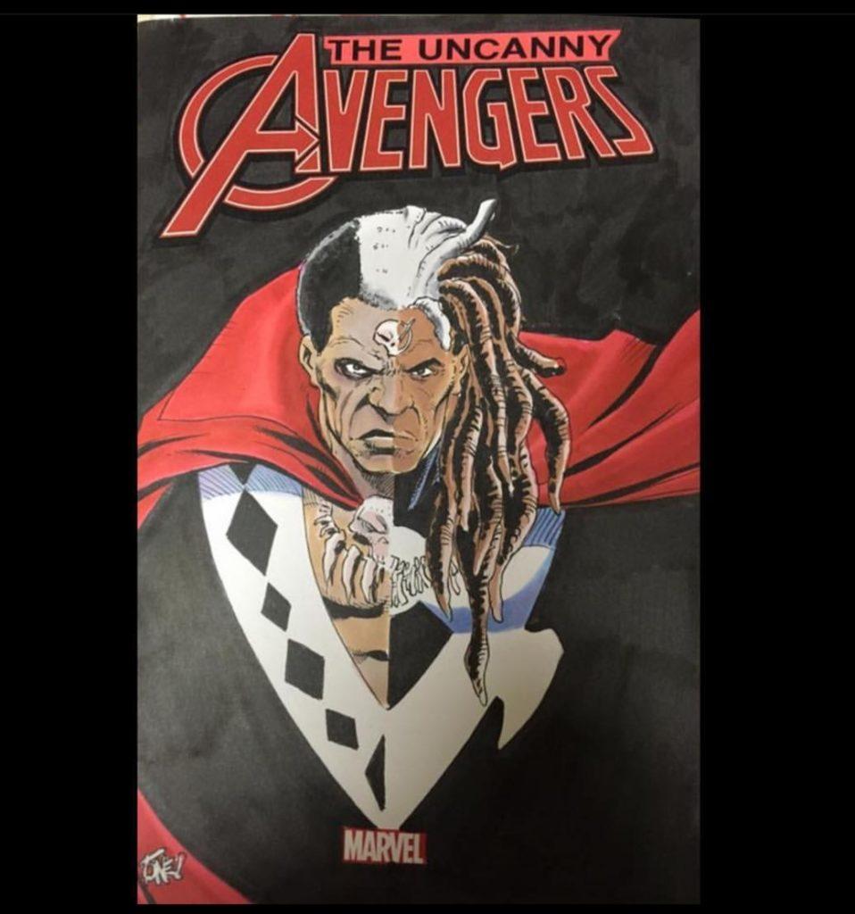 Avenger sketch cover