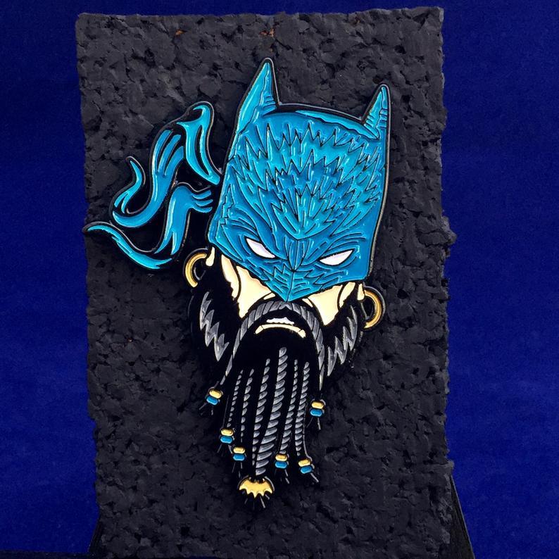batman pin art