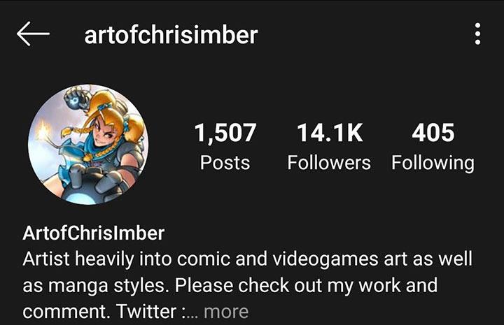 Chris Imber instagram