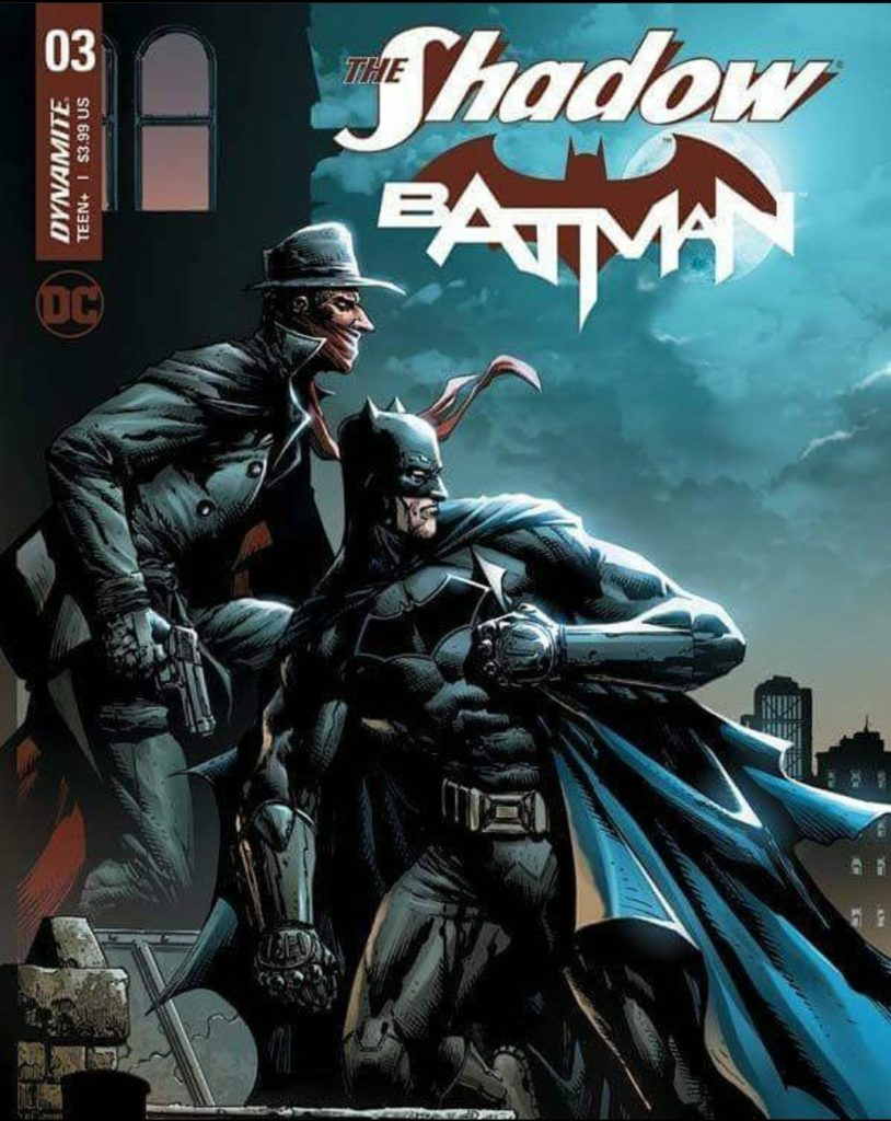 the shadow and batman