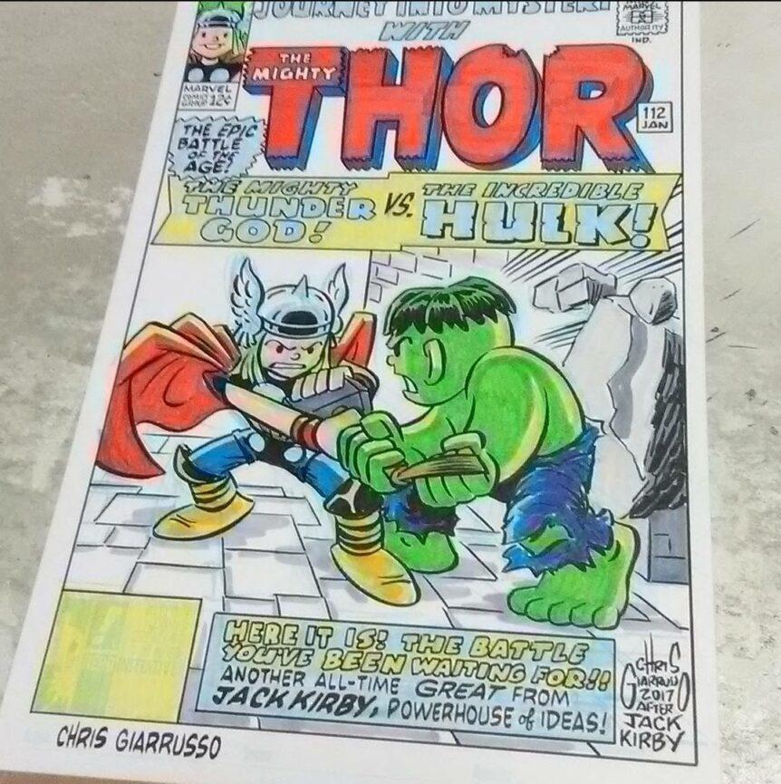 Thor sketch cover