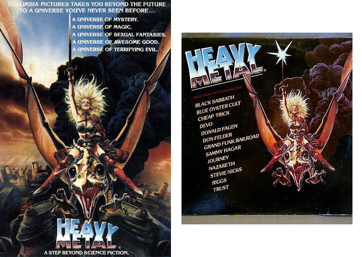 Heavy Metal the movie