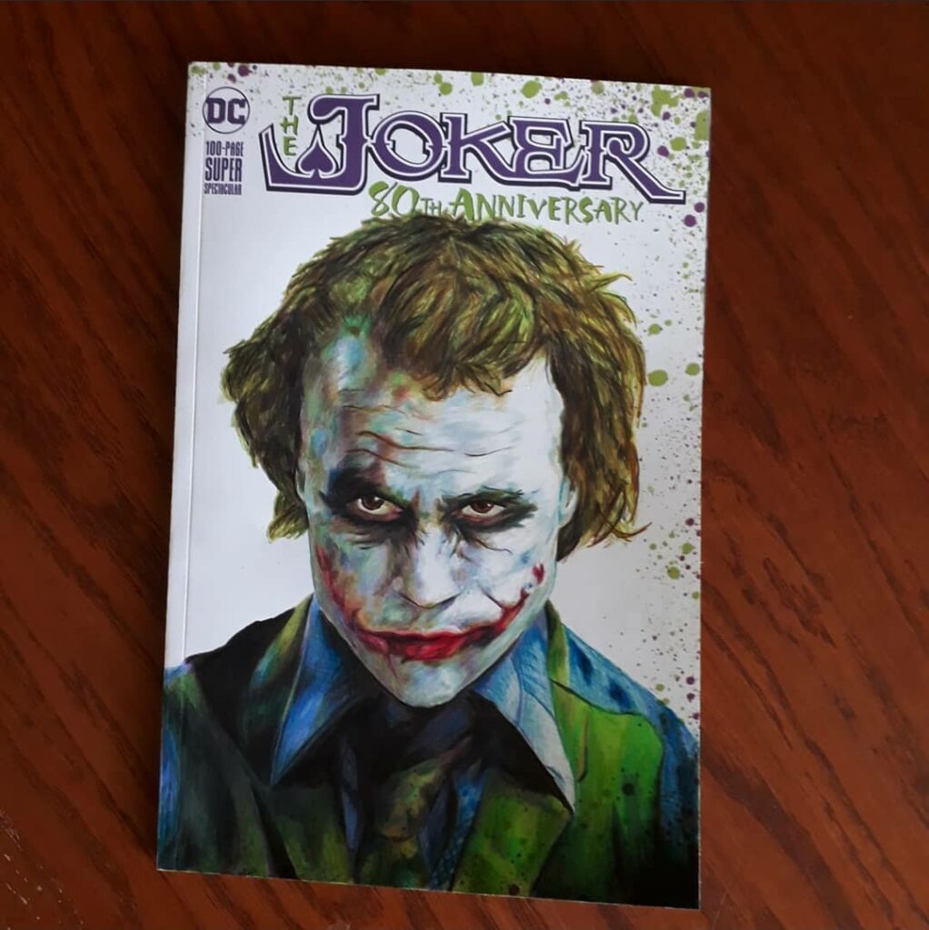 The Joker sketch cover
