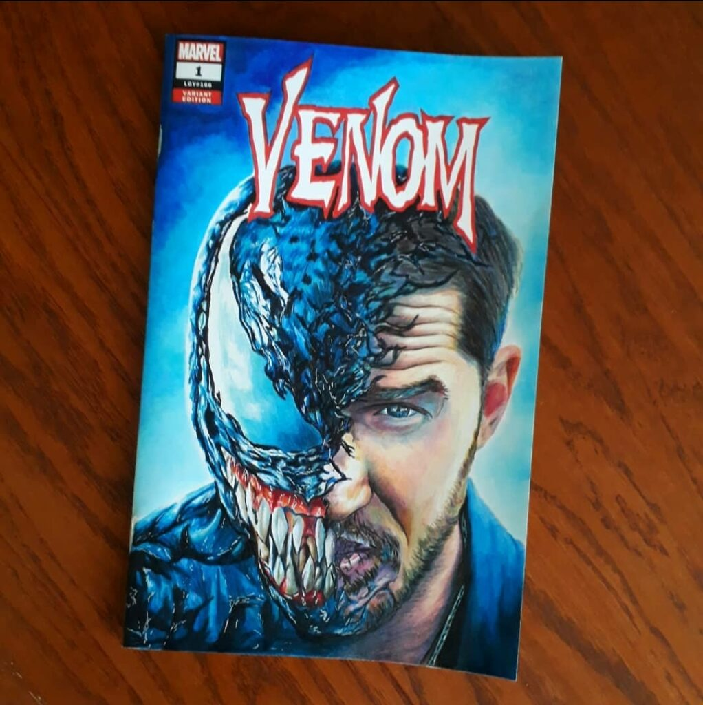 Venom Sketch cover