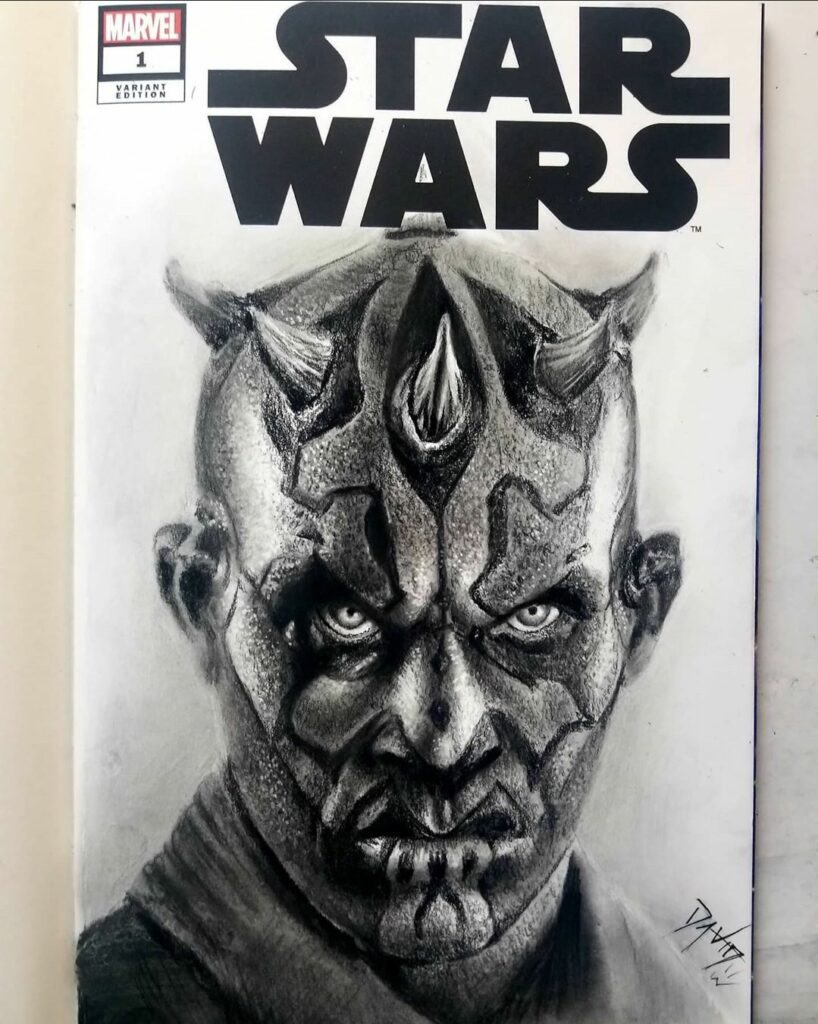 Star Wars sketch cover